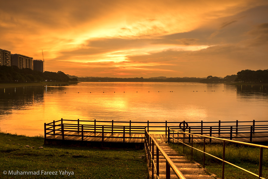 Sunset, Bedok Reservoir